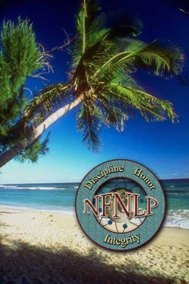 Tropical Paradise with NFNLP Logo